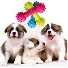 Pet ToyHaoricu Pet Dog Puppy Rubber Dental Teeth Chew Bone Play Training Fetch Fun Toys Hot -- You can find more details by visiting the image link. (This is an affiliate link) Toy Puppies, Small Puppies, Dogs And Puppies, Dog Chew Toys, Dog Toys, Dental Teeth, Small Cat, Cool Pets, Doge