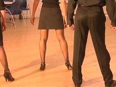 Cours de tango Argentin Milonga (2/9) - Tenue du corps et pas de bases - YouTube