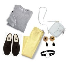 """""""Untitled #541"""" by milanazec ❤ liked on Polyvore featuring Blair, Lands' End, Vans, Dolce&Gabbana and plus size clothing"""
