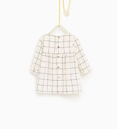 ZARA - KIDS - Check dress