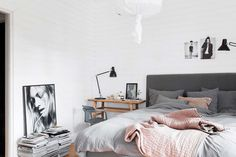 45 Scandinavian bedroom ideas that are modern and stylish                                                                                                                                                      More