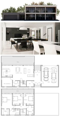 Exceptional Planta De Cas · GrundrisseHausbauModernes Haus PläneModerne  HäuserVersandbehälter ... Good Ideas