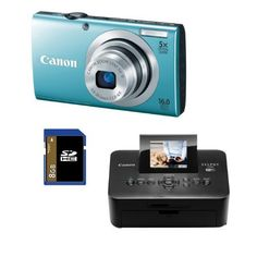 Canon PowerShot A2400 IS (Blue) 16.0 MP Digital Camera Bundle with Canon SELPHY CP900 Black Wireless Photo Printer and 8 GB SD Card by Canon. $239.00. With the sleek and stylish PowerShot A2400 IS digital camera, capturing images the way you see them is easy. Smart AUTO intelligentlyCanon PowerShot A2400 IS at Amazon.com selects the proper camera settings based on 32 predefined shooting situations, and Intelligent IS automatically optimizes image stabilization, so every time yo...