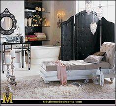 Decorating theme bedrooms - Maries Manor: Hollywood At Home - decorating Hollywood glam style bedrooms - vintage glam - old style Hollywood themed bedroom ideas