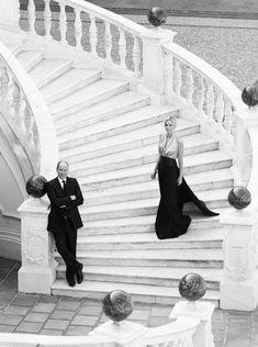 Monaco royal wedding: Prince Albert and Charlene Wittstock star in stunning wedding photos by Karl Lagerfeld