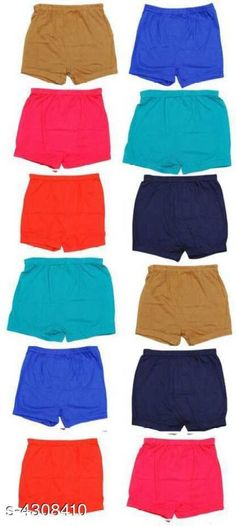 Innerwear Elegant 100 % Hosiery Cotton Kid's Bloomers (Pack Of 12) Fabric: 100 % Hosiery Cotton Size: Age Group ( 0 months To 6 months) - Waist Size - 60 cm Age Group ( 6 months To 12 months) - Waist Size - 60 cm Age Group (1 Year To 2 Year) - Waist Size - 60 cm Age Group ( 2 Year To 3 Year) - Waist Size - 60 cm Age Group ( 3 Year To 4 Year) - Waist Size - 65 cm Age Group ( 4 Year To 5 Year) - Waist Size - 70 cm Age Group ( 5 Year To 6 Year) - Waist Size - 70 cm Age Group ( 6 Year To 7 Year) - Waist Size - 70 cm Description: It Has 12 Pieces Of Kid's Bloomers Pattern: Solid Country of Origin: India Sizes Available: 0-3 Months, 0-6 Months, 3-6 Months, 6-9 Months, 6-12 Months, 9-12 Months, 12-18 Months, 18-24 Months, 0-1 Years, 1-2 Years, 2-3 Years, 3-4 Years, 4-5 Years, 5-6 Years, 6-7 Years   Catalog Rating: ★4.1 (447)  Catalog Name: Fable Elegant 100 % Hosiery Cotton Kid's Bloomers Combo Vol 1 CatalogID_617735 C59-SC1187 Code: 213-4308410-837