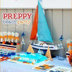 Preppy Beach Party