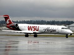 WAZZU on a plane, how cool is that?