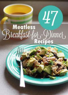 47 Meatless Breakfast-for-Dinner Recipes