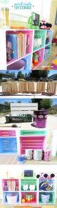 Wood Crate Toy Storage