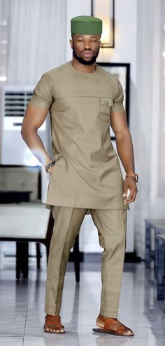 Latest Senator Styles for 2019 - DailySteer African Wear Styles For Men, African Shirts For Men, African Dresses Men, African Attire For Men, African Clothing For Men, Mens Fashion Quotes, Big Men Fashion, Nigerian Men Fashion, African Print Fashion