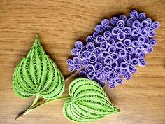 Znalezione obrazy dla zapytania quilling lilac