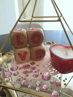 Simple Valentine's Day Decorations on a Budget {Details Blog}