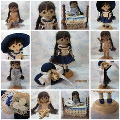 A place to share and discuss cloth and crochet dolls made by hand.