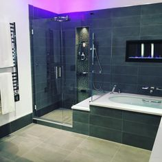 Linear Shower Drain and Trench Drain Systems Trench Drain Systems, Shower Drain, Bath Tubs, Corner Bathtub, Master Bathroom, Courtyards, Bathtubs, Master Bath, Soaking Tubs