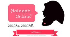 """New logo and website for """"Halaqah Online"""", alhamduiliah. This is a project I have created to unite sisters from all around the world while benefiting each other with Islamic knowledge via Google Hangout. Non-Muslim sisters are also more than welcome to join us :) Perhaps you want to know (or have questions) about Islam, meet Muslim sisters, etc. If interested in joining, please check out the site & fill out the form. Jazak Allah Khair! #unite #sisterhood #friendship #educate #learn #islam"""