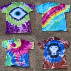Tulip Tie Dye T-shirt Party! Tie Dye your Summer! Tie Dye is the first signs of Summertime. The bright colors and hippy look are perfect for Summer b… Fête Tie Dye, Tulip Tie Dye, Tie Dye Party, Tie Dye Kit, Tye Dye, Cut Up Shirts, Old Shirts, Diy Tie Dye Shirts, Diy Shirt