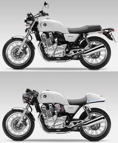 Honda CB1100 Custom Concept | 2017 = Back to the USA? | Honda-Pro Kevin