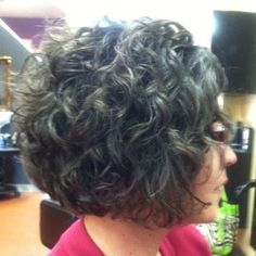 25+ best ideas about Curly stacked