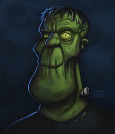 Frankenstein by DQuinn89.deviantart.com on @deviantART