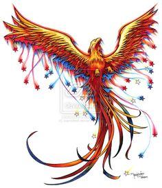 phoenix tattoo design by icarosteel on DeviantArt