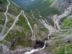 Trollstigen, Rauma, Norway