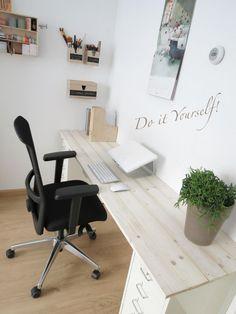 Office Decor, Home Office, Teen Desk, Flex Room, Desk Areas, Little Girl Rooms, Ikea, Decoration, Kids Bedroom