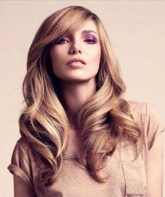 Long Wavy #Hairstyle Hair Styles 2014, Curly Hair Styles, Pretty Hairstyles, Straight Hairstyles, Wavy Hairstyles, Hairstyle Ideas, Amazing Hairstyles, Updos Hairstyle, Style Hairstyle