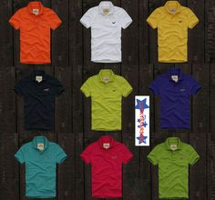 Hollister By Abercrombie & Fitch Men Short Sleeve Polo Shirt