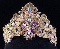 Ballet headpieces Diana and Actaeon, La Esmeralda, Princesses