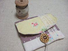 簡単♪端布活用カードケースの作り方|ソーイング|編み物・手芸・ソーイング