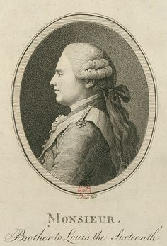 Portrait of Louis XVIII of France - Jones 1794 - Louis XVIII — Wikipédia