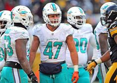 Miami Dolphins Kiko Alonso (47) played all season in the middle of the Miami Dolphins defense. That may change in 2017.