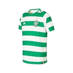 38ab029a164af New Balance Celtic Home Junior Short Sleeve Jersey 2018 2019 - Material  100% polyester