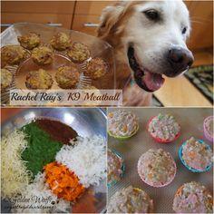 Barkday Meal Treat: Rachel Ray's K9 MeatBalls