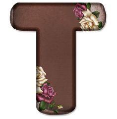 Alphabet Letters Design, Flower Alphabet, M Wallpaper, Heart Wallpaper, Floral Font, Minnie Png, Name Art, Letter T, Lettering Design