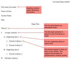 outline essay format vaccine