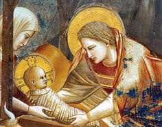 Navidad: La historia de las miradas...majestuosísima, trascendente, purísima, rezando