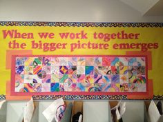 """""""When we work together..."""" display"""