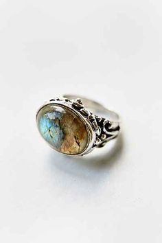 Large Moonstone Ring