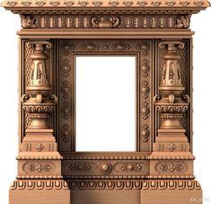 Gate Design, 3d Design, House Design, Pooja Room Door Design, Pooja Rooms, Wood Fireplace, Textured Wallpaper, Background For Photography, Festival Decorations