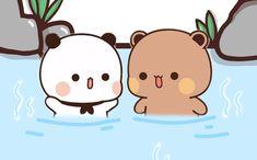 Cute Bunny Cartoon, Cute Cartoon Pictures, Cute Love Cartoons, Bear Cartoon, Cute Images, Cute Bear Drawings, Cute Animal Drawings Kawaii, Cute Cartoon Drawings, Kawaii Drawings