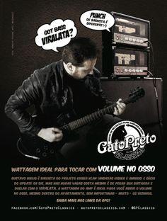 "Ad 9 - Guitar Player Magazine - Nov/13 - Who: Gustavo Giglio (Update or Die) - Campaign: ""Inclusão Valvulada"""