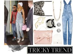 """""""Tricky Trend: Overalls"""" by trend-polish on Polyvore"""