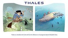 Thales es miembro de la Aircraft Carrier Alliance en el programa Queen Elisabeth Class.