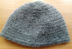 Nålebinding hat. Oslo stitch. Hand-made. 100%  wool.   (Also Naalbinding/needle-binding)