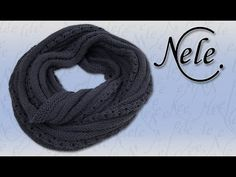 Möbius Loop Schal stricken lernen, Nele's Möbius Anschlag auch für Anfänger, DIY Anleitung by NeleC. - YouTube