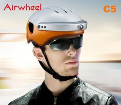 Airwheel C5 as An smart Gopro helmet camera, What You See is What You Get.