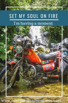 I have a thing. And I love this thing. Here I tell you all about it and why you should let it set your soul on fire just like it has done for me. Motorcycle Travel, Soul On Fire, Camping Gear, Continents, Adventure Travel, Road Trip, Told You So, Let It Be, In This Moment
