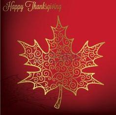 hojas de otoño dibujo: Filigrana tarjeta de Acción de Gracias la hoja de arce en formato vectorial